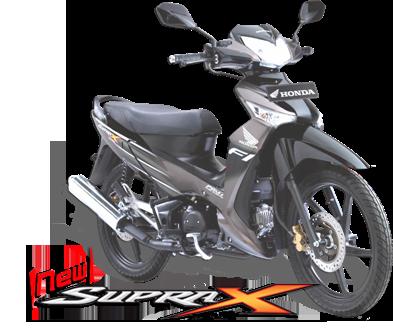New Motor Honda  New Supra X 125